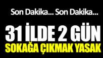 Türkiye'de Sokağa Çıkma Yasağı – Hangi İller Bunu Kapsıyor